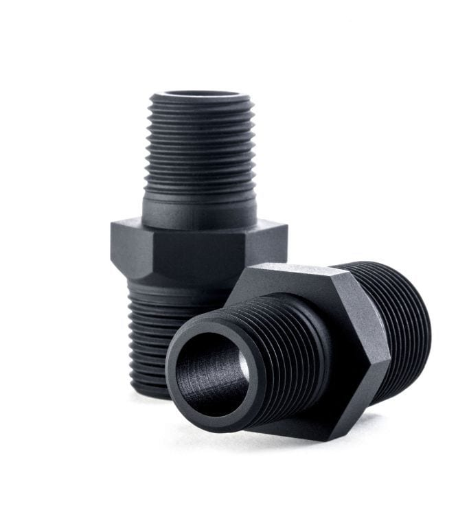 Custom printed adapter pipe for business